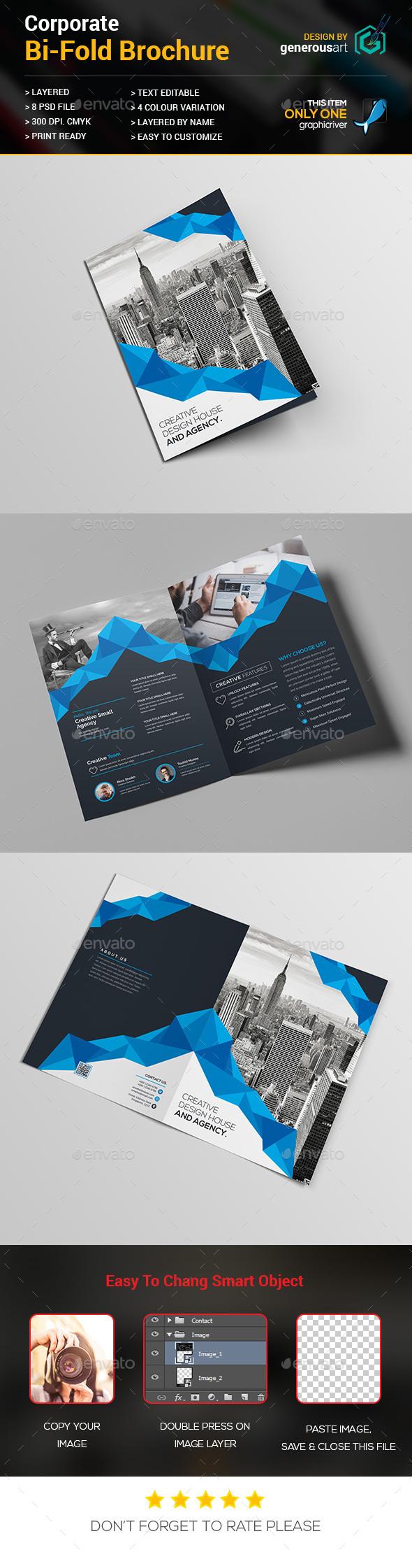 Bi-Fold_Business Brochure - Brochures Print Templates