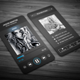 Music Player Style Business Card - GraphicRiver Item for Sale