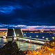 Raised Palace Bridge At Night In Saint-Petersburg - VideoHive Item for Sale
