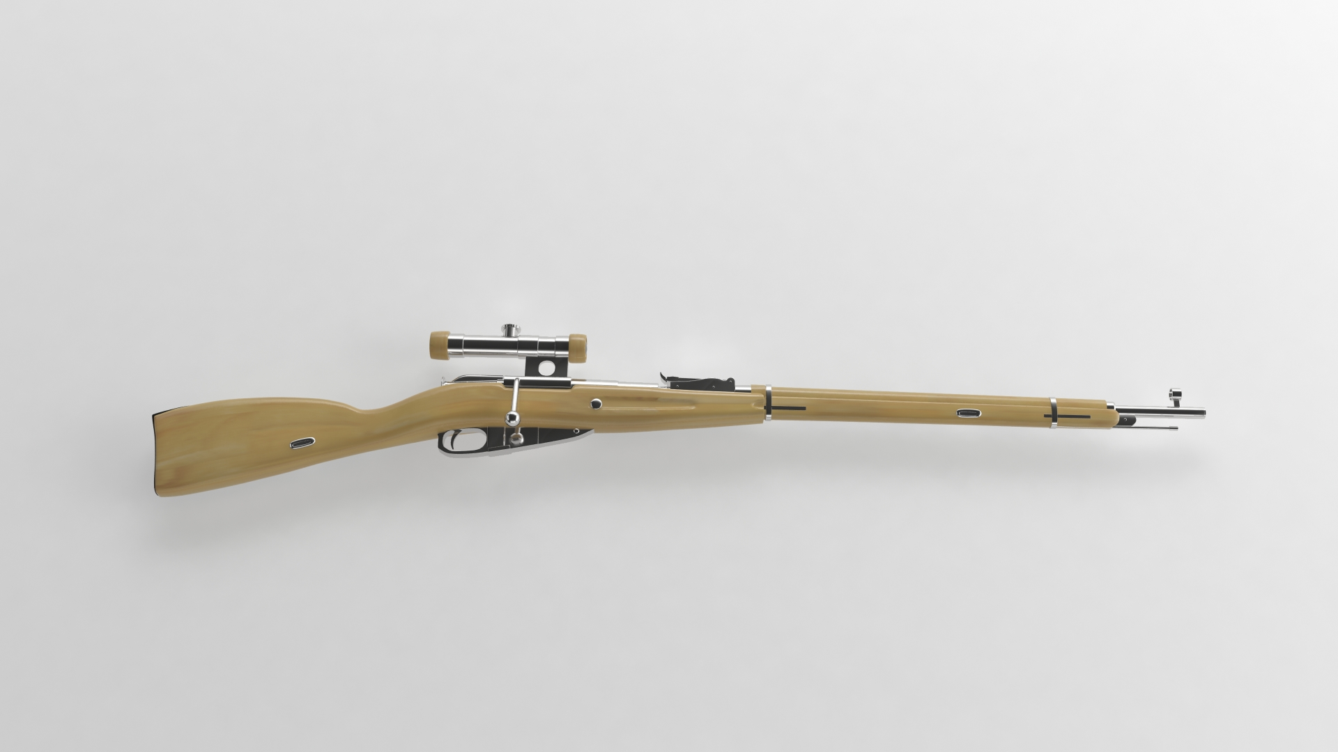 Mosin Nagant Sniper Rifle