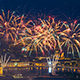 Firework Near Peter and Pavel Fortress Saint Petersburg Russia - VideoHive Item for Sale