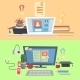 Online Education and Learning - GraphicRiver Item for Sale