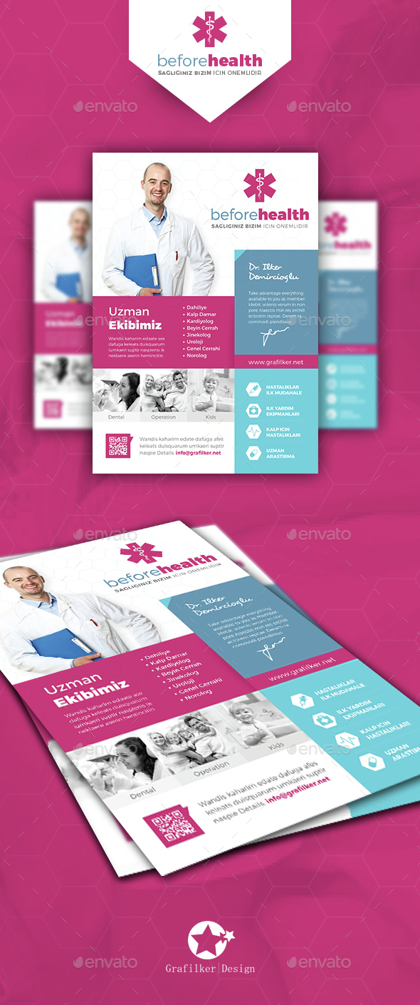 Health Flyer Templates - Corporate Flyers