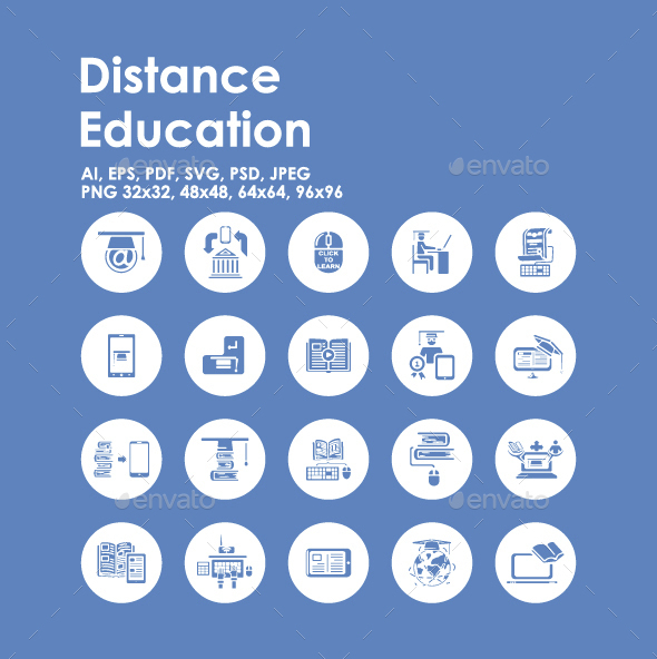 20 Distance Learning icons - Miscellaneous Icons