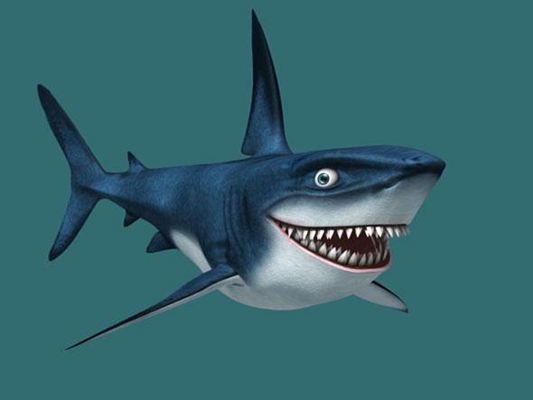 sharky - 3DOcean Item for Sale