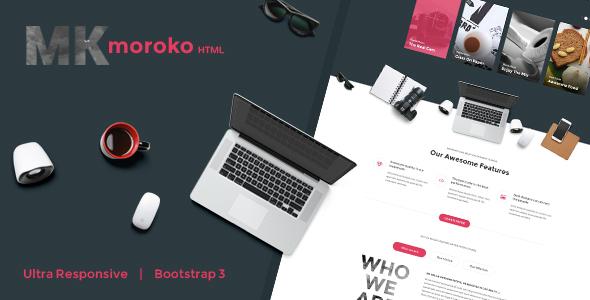 Moroko – Creative Bootstrap Responsive Template