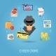 Cyber Crime Concept - GraphicRiver Item for Sale