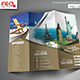 Tourism Service Trifold Brochure Template  - GraphicRiver Item for Sale