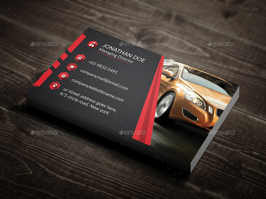 Rent a car business card by ancientego graphicriver rent a car business card industry specific business cards 01previewg 02previewg reheart Gallery