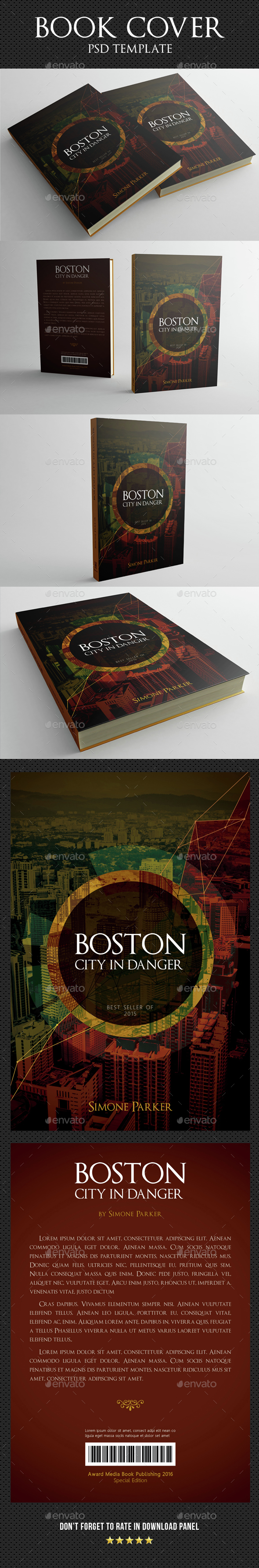 Book Cover Template 06 By Rapidgraf Graphicriver
