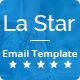 La Star - Responsive Email Template - ThemeForest Item for Sale