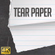 Tear Paper Transitions - VideoHive Item for Sale