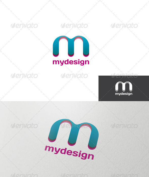Letter M Logo - Letters Logo Templates