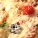 Pizza With Ham, Tomato And Olives - VideoHive Item for Sale