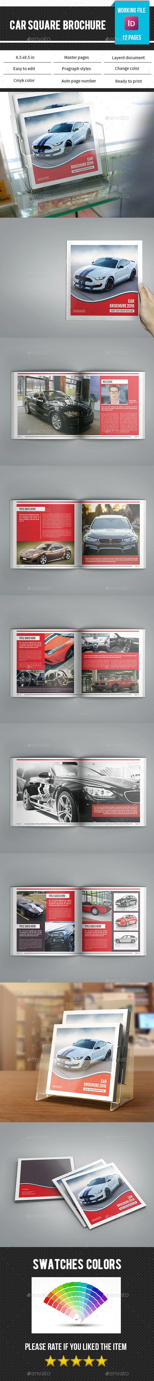 Square Car Brochure/Catalog-V79 - Catalogs Brochures
