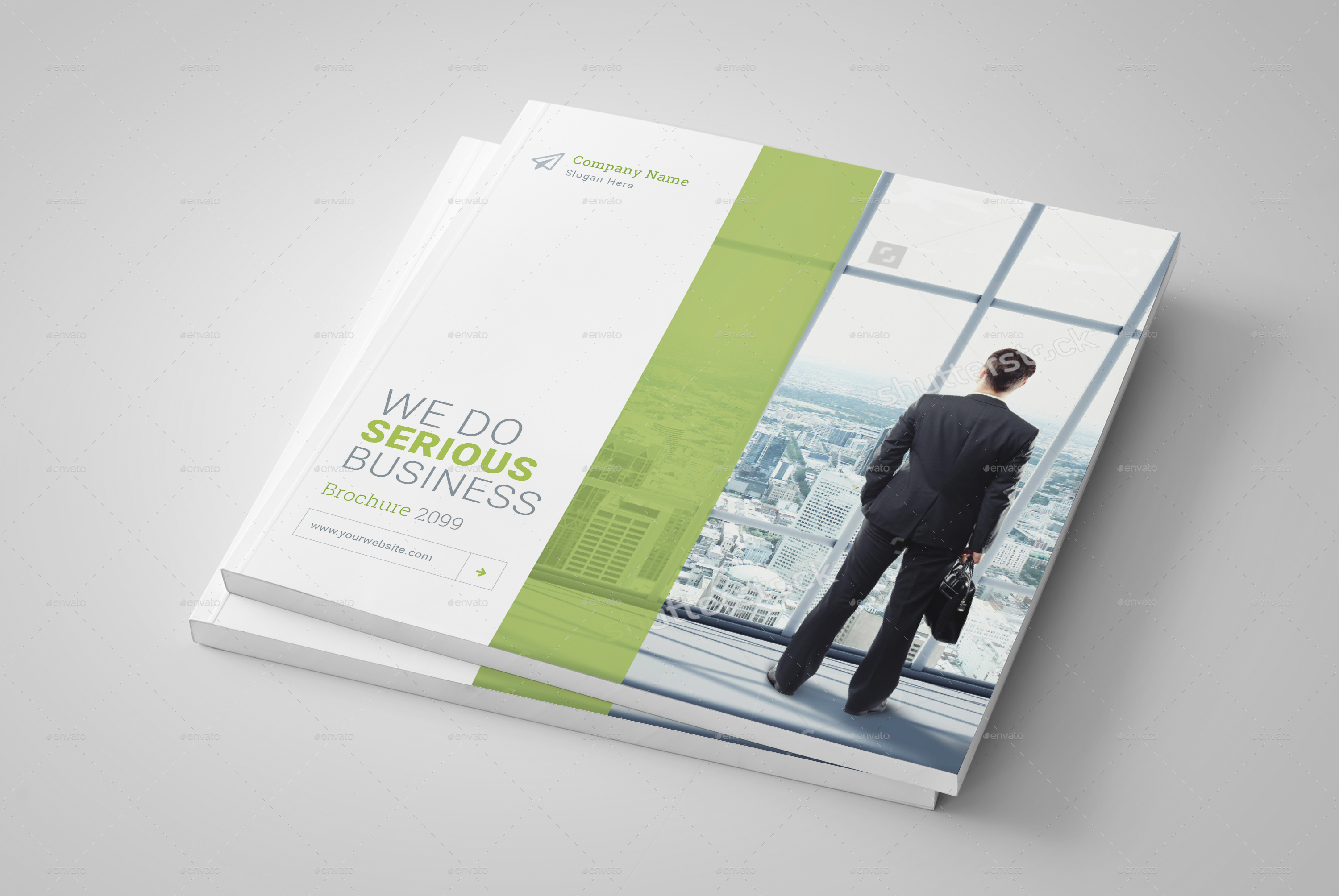 square brochure template by dotnpix