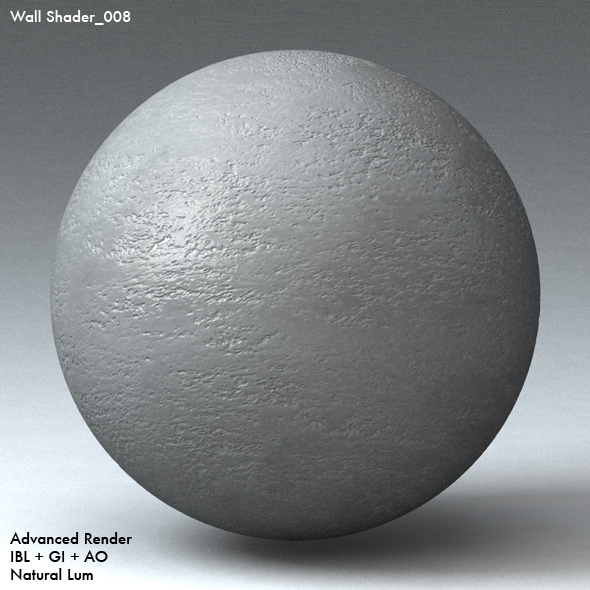 Wall Shader_008 - 3DOcean Item for Sale