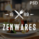 Zenwares - Multi-Purpose eCommerce PSD Template