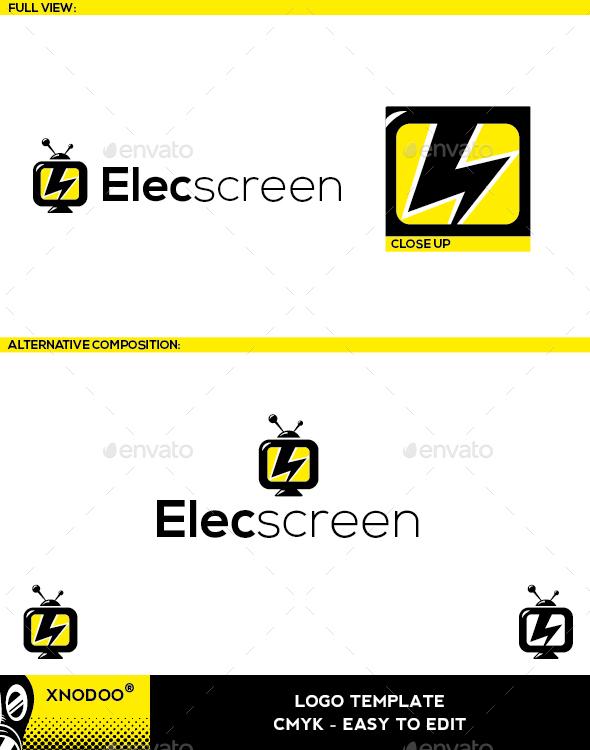 Elecscreen Logo - Objects Logo Templates