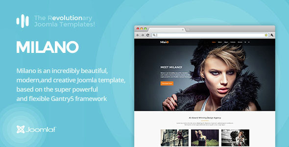 IT Milano – Gantry 5, Photography & Portfolio Joomla Template