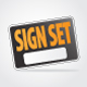Sign Set - GraphicRiver Item for Sale