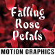 Falling Rose Petals - VideoHive Item for Sale