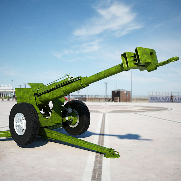 Cannon 2A61 - 3DOcean Item for Sale