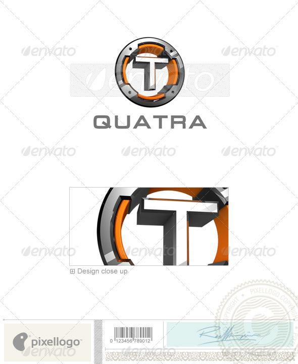 T Logo - 3D-494-T - Letters Logo Templates