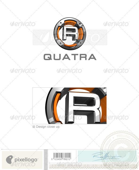 R Logo - 3D-494-R - Letters Logo Templates