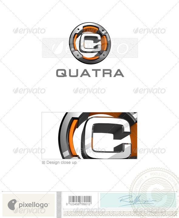 C Logo - 3D-494-C - Letters Logo Templates