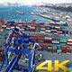 Container Port - VideoHive Item for Sale