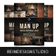 Man Up Men's Retreat - GraphicRiver Item for Sale