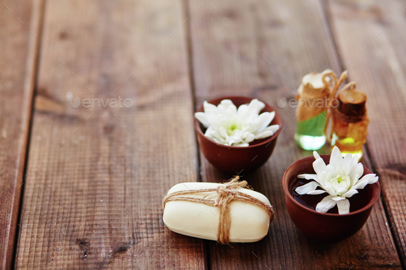 Spa fragrances - Stock Photo - Images