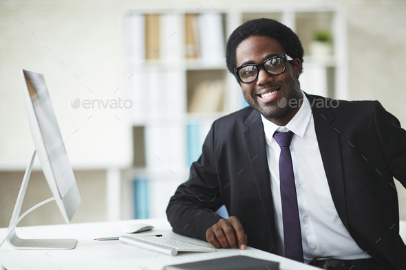African businessman - Stock Photo - Images