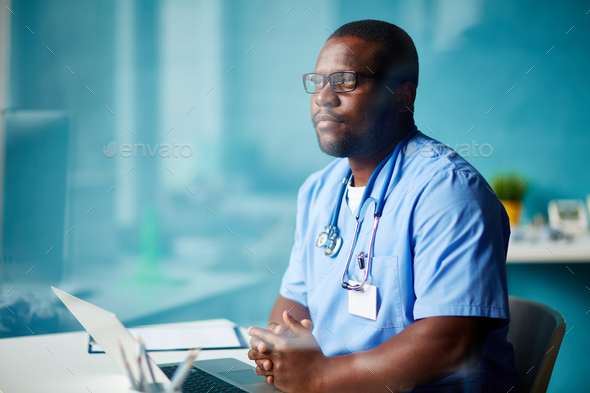 Doctor at work - Stock Photo - Images
