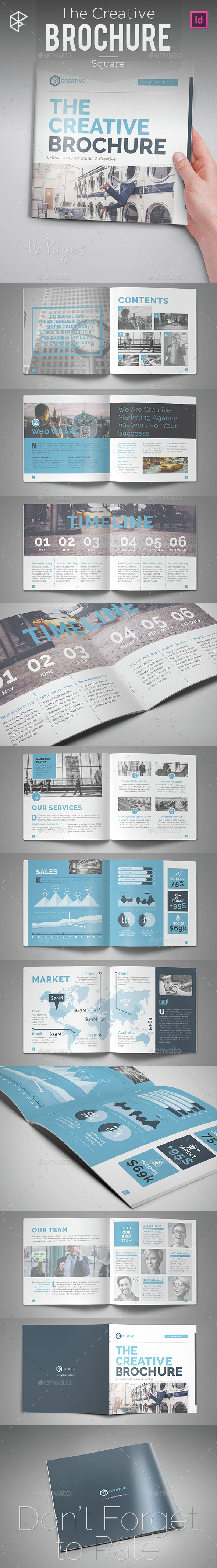 The Creative Brochure - Square - Corporate Brochures