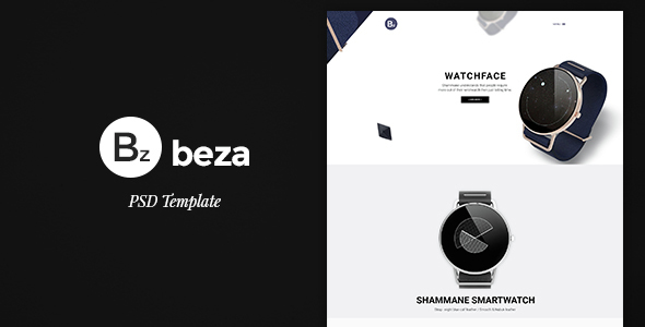 Beza – Single Product PSD Template