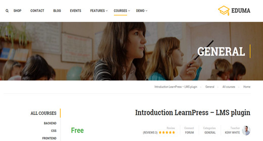 School WordPress Theme