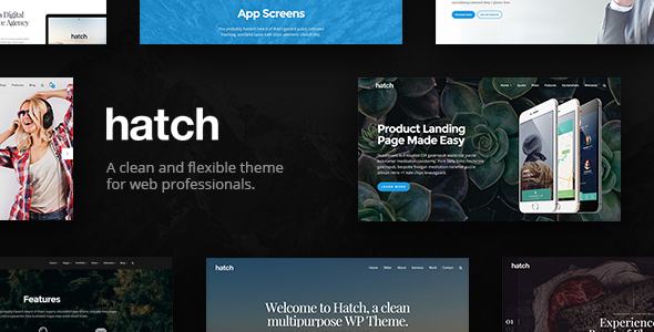 Hatch – MultiPurpose WordPress Theme
