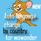 Auto Language Change by Country for Wowonder