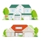 House on White Background - GraphicRiver Item for Sale