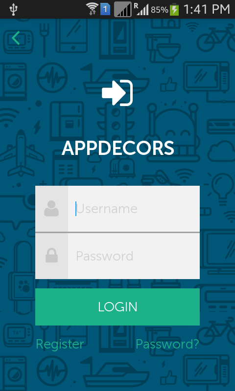 Android login templates pack by appdecors codecanyon android login templates pack pronofoot35fo Images