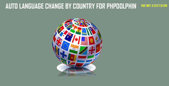 Auto Language Change by Country for Phpdolphin - CodeCanyon Item for Sale