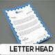 Corporate Letterhead Template - GraphicRiver Item for Sale