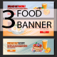 Breakfast Banners - GraphicRiver Item for Sale
