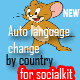 Auto Language Change by Country for Socialkit
