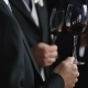 Glasses Of Wine In Hands. Men Holding Glasses Of Wine. - VideoHive Item for Sale