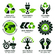Eco Label and Symbol Set - GraphicRiver Item for Sale