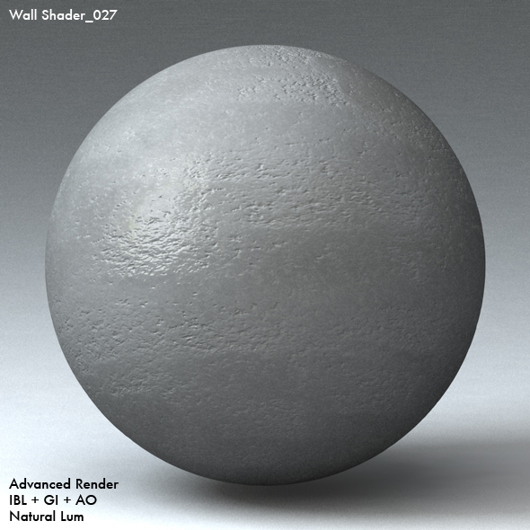 Wall Shader_027 - 3DOcean Item for Sale
