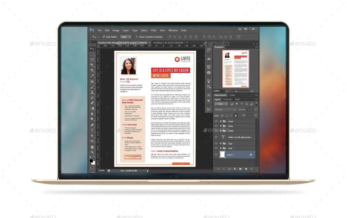 Case Study Template | Flyer by deviserpark | GraphicRiver